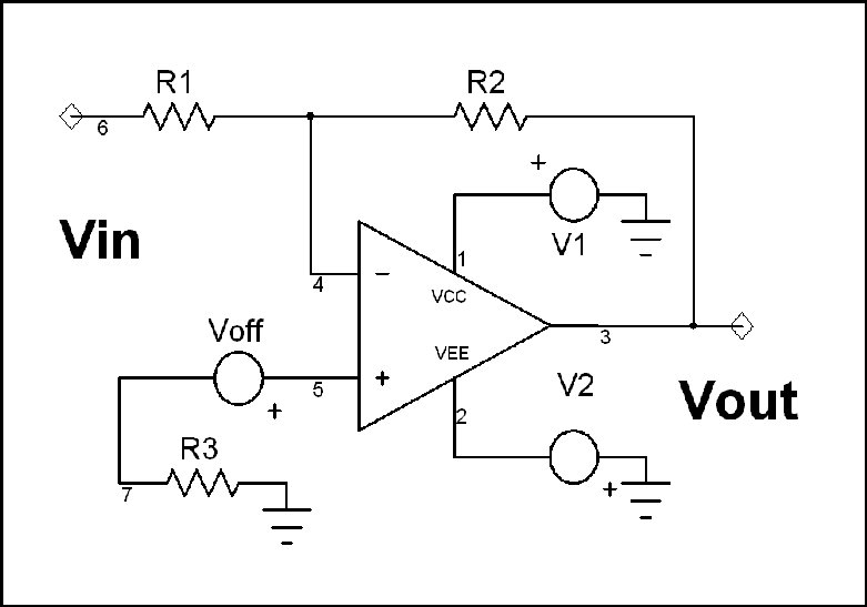 cpr  amplifier dc analysis